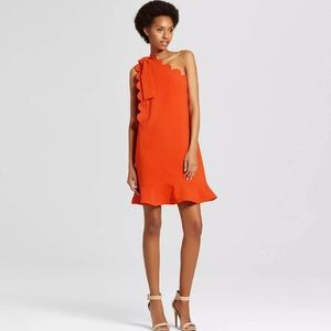 Victoria Beckham For Target Orange Dress NWT Sz XL